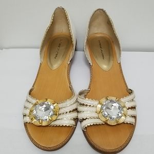 Chinese Laundry Bling Wedge Sandals Size 9.5